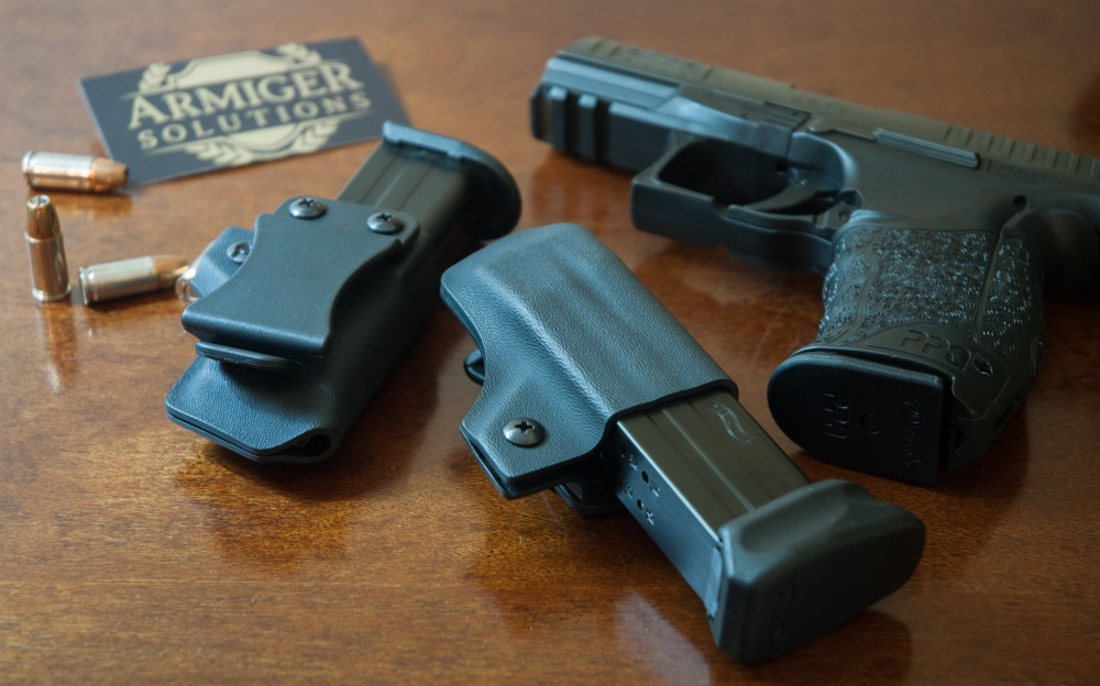PPQ M1 and Armiger Solutions OWB Magazine Pouches